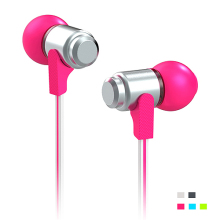Wallytech WEA-116 metal In-ear Earphones For iPod iPad Touch MP3 MP4 earbuds Free Shipping colorfull earphone