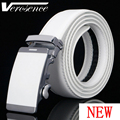 [TG] Hot Sale Mixed Models Genuine Leather White strap Automatic Buckle Men's Belt Cowskin Belts for Men Waistband Ceinture
