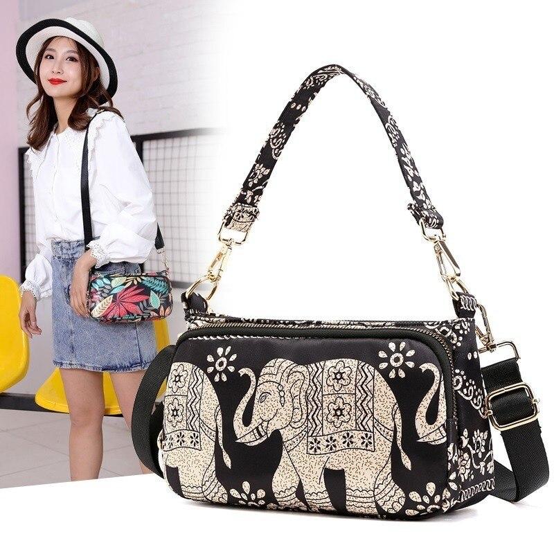 Printing Women Shoulder Bag Ladies Handbags Quality Brand Messenger Bags Female Small Tote Crossbody Bag Leisure Bolsa Feminina 31