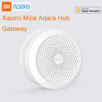 Original Xiaomi Mijia Aqara Hub , Mi Gateway with RGB Led night light Smart work with For Apple Homekit and aqara smart App