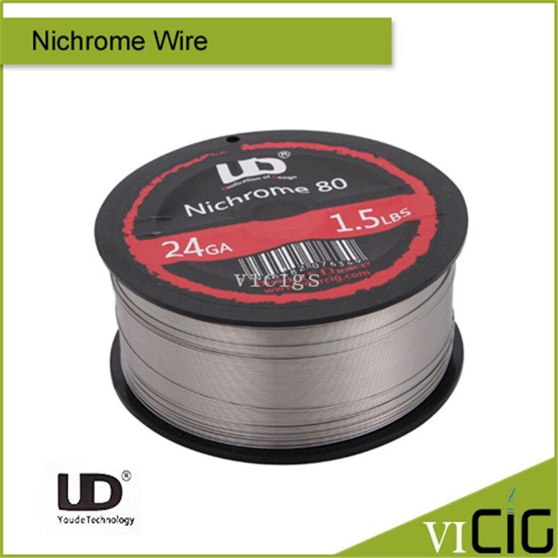 100% Original Youde UD 24ga 26ga 28ga 1.5LBS Nichrome Wire