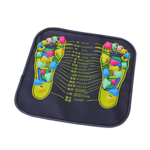 Reflexology Walk Stone Foot Leg Pain Relieve Relief Massager Mat Pad Cushion Health Care Acupressure massageador