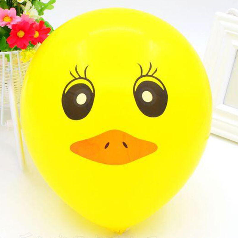 "100 x HAPPY SMILEY YELLOW 12/"" FACE BALLOONS Latex Rubber Helium Party Decoration"