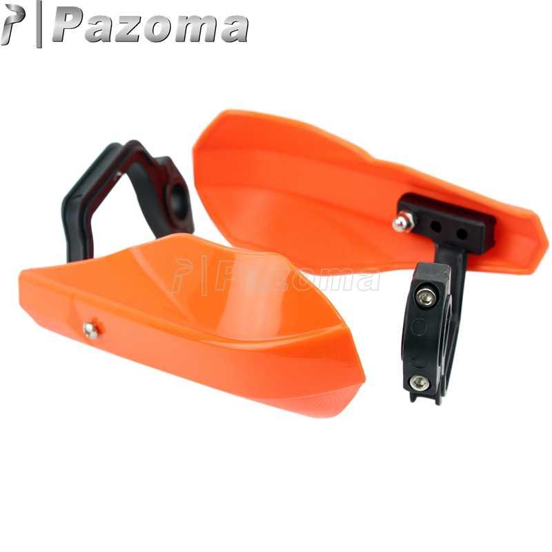 "Pazoma Orange Dirt Pit Bike 7/8"" Handguard Hand Guards Protection for Kawasaki Honda Suzuki KTM ATV Snowmobile Motorcycles"