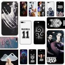 Sheli Derek Hale Kutipan Teen Wolf Frosted Lembut Transparan Penutup Case untuk iPhone X XS XR Max SE 5 5 S 6 6 S 7 7 Plus(China)