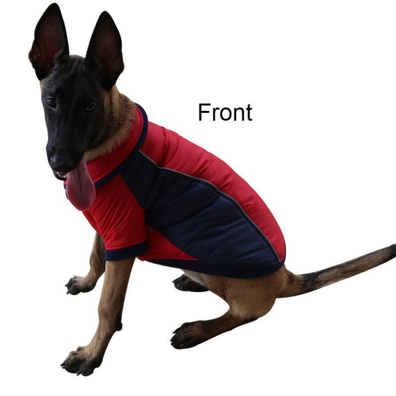 Small Puppy Dog Jackets Pet Coats Winter Autumn Warm Wear On Both Sides Pet Dog Clothes Hoodies