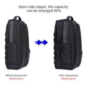 Image 2 - BOPAI Businessกระเป๋าเป้สะพายหลังUSBชาร์จแล็ปท็อปป้องกันการโจรกรรมกระเป๋าเป้สะพายหลัง15.6นิ้วชายขนาดใหญ่ความจุกระเป๋าโรงเรียนวิทยาลัย