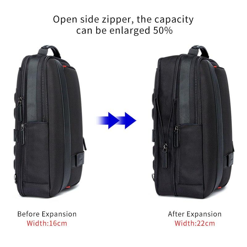 Mode toile imperméable grande capacité sacs à dos hommes sac à dos ordinateur portable voyage sac à dos école sacs quotidiens hommes et femmes - 2