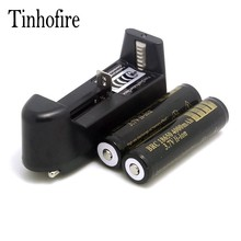 Tinhofire 2 шт. 18650 3.7 В Батарея и 1 шт. все в одном Li-Ion Зарядное устройство
