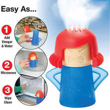 Angry Mama Easily Cleans In Minutes Microwave Oven Kitchen