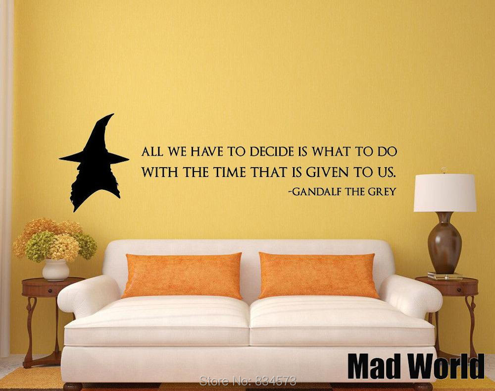 Lord of the rings wall decals choice image home wall decoration lord of the rings wall todosobreelamorfo lord of the rings wall get cheap plastic wall sticker amipublicfo Choice Image