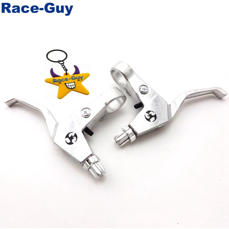 7/8'' Alloy Right Left Handle Brake Levers For 43cc 47cc 49cc 2 Stroke Chinese Mini Kids Pocket Dirt Bike Minimoto