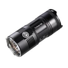 Nitecore TM06 Lightest Flashlight 4* Cree Xml2 U2 Led 3800 Lumens 334M Distance Powerful Glare Torch By 4* 18650 Li-ion Battery