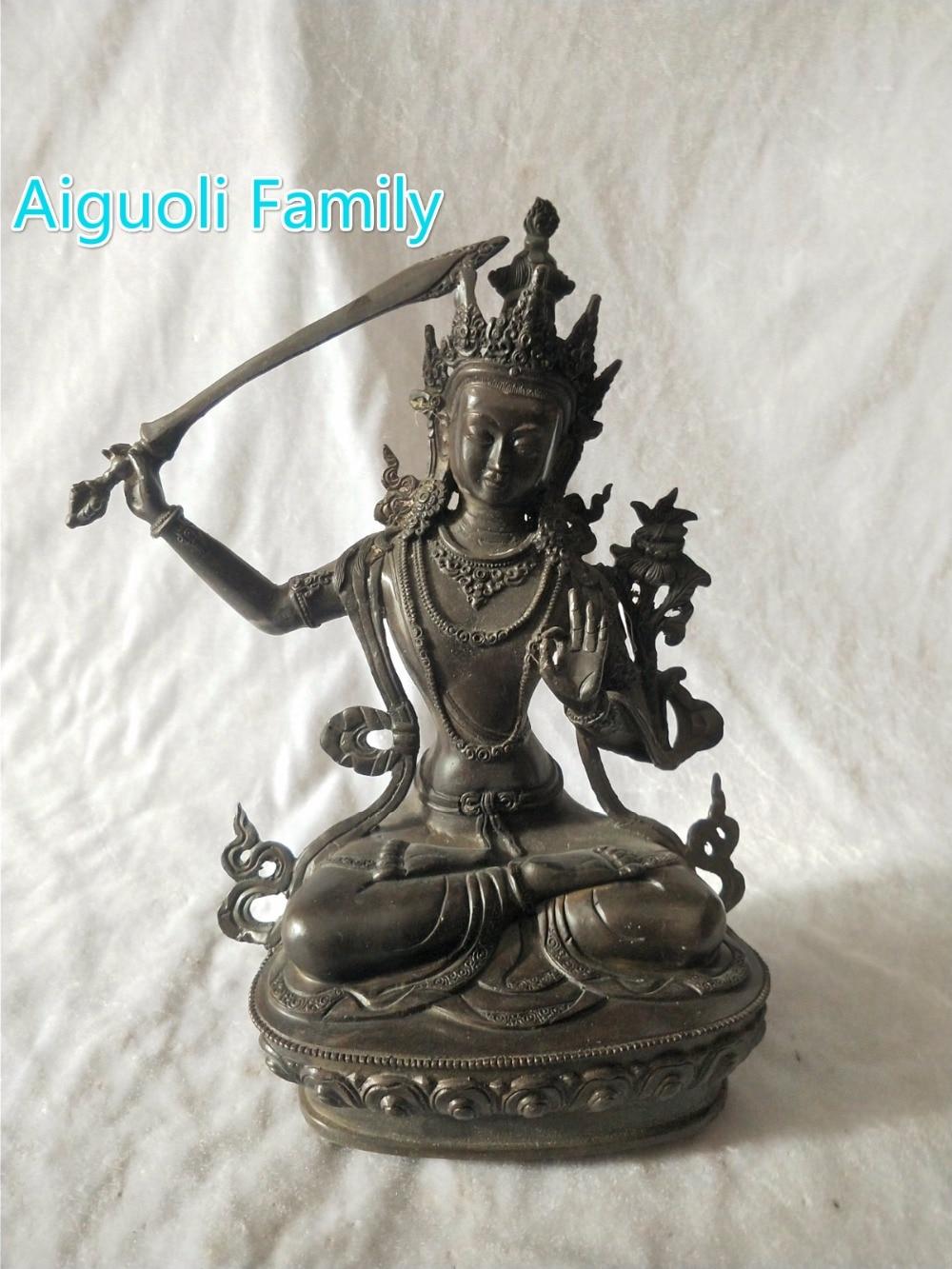 High 30CM buddha sculpture!!!Asian