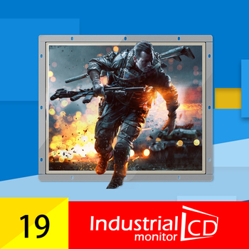 M190S-OFR/ Faismars 19 Inch 1280*1024 Resistive Touch Screen Monitor Open Metal Frame Touch Monitor with VGA/DVI/HDMI interfaces