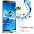 HOT 2016 new 9H Hardness 2.5D Tempered Glass Film Anti-oil anti-scratch mobile film For LG G3 G4 Premium Glass Screen Protector