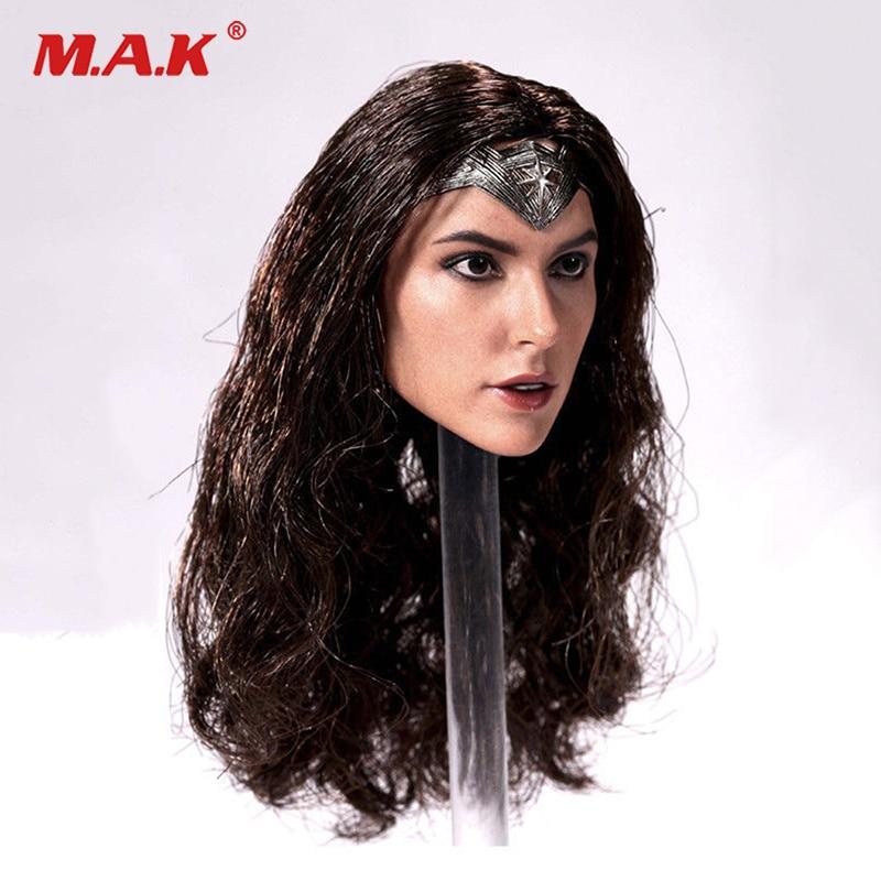 1/6 Scale Gal Gadot Model Wonder Woman Head Sculpt F 12 TBLeague Figure CN