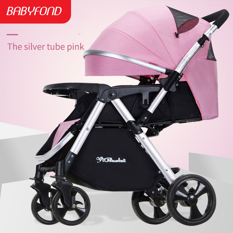 four wheels light travel system bebe car Portable Baby Bi-directional Baby stroller newborn use yibaolai brand baby stroller ...