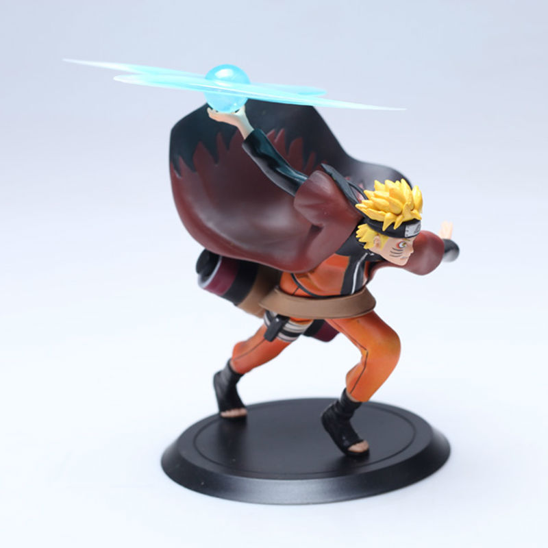 2016NEW Naruto Figure Uzumaki 18cm PVC Action Collection Toy Attack Modeling For Children Best Gift