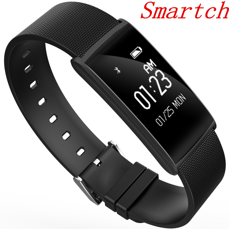 Smartch New N108 Smart Wristband 0 96 inch Heart Rate Monito BT 4 0 IP67 Waterproof
