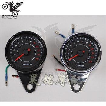 Odómetro de moto rbike de marca profesional con retroiluminación LED contador de velocidad de motocicleta para honda CG125 tacómetro moto rcycle velocímetro