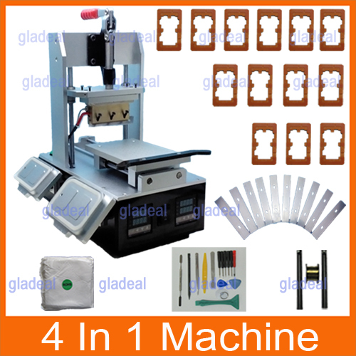 все цены на  4 in 1 Multifunction Samsung Bezel Middle Frame Separate Machine +Built-in Vacuum LCD Screen Separator +Glue Remover +Preheater  онлайн