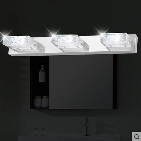 Simple Bathroom Wall Sconces : ???Simple Fashion Modern Crystal Wall ??? Sconce Sconce Bathroom Wall ? ? Lamp Lamp LED Mirror ...