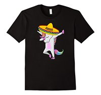 Mexican Unicorn Christmas Hat T Shirt Gift Men T-Shirt Men Clothing Plus Size Top Tee 100% Cotton Top Quality Tee
