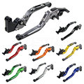 Motorcycle Foldable Extendable Brake Clutch Levers For 2007-2008 Suzuki GSXR 1000 GSXR1000 K7 07 08