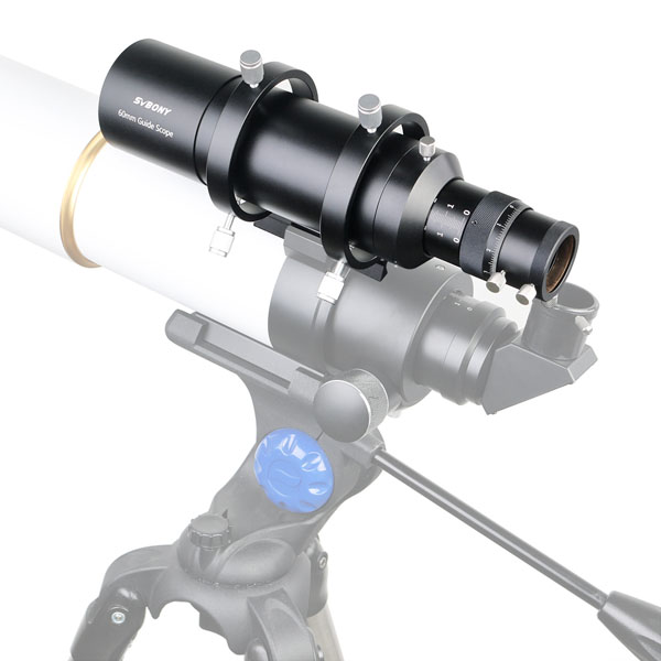 60mm Compact Deluxe Guide Scope Finderscope w1.25 Double Helical Focuse (10)