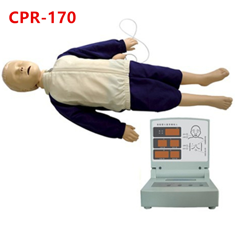 HeyModel Computer Children Cardiopulmonary Resuscitation Simulator (with assessment function) CPR170 Training Manikin advanced full function nursing training manikin with blood pressure measure bix h2400 wbw025