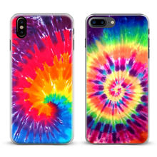 Tie dye Hippie Art Rainbow Hipster Phone Case Cover Shell For Apple iPhone X 8Plus 8 7Plus 7 6sPlus 6s 6Plus 6 5 5S SE 4s 4(China)