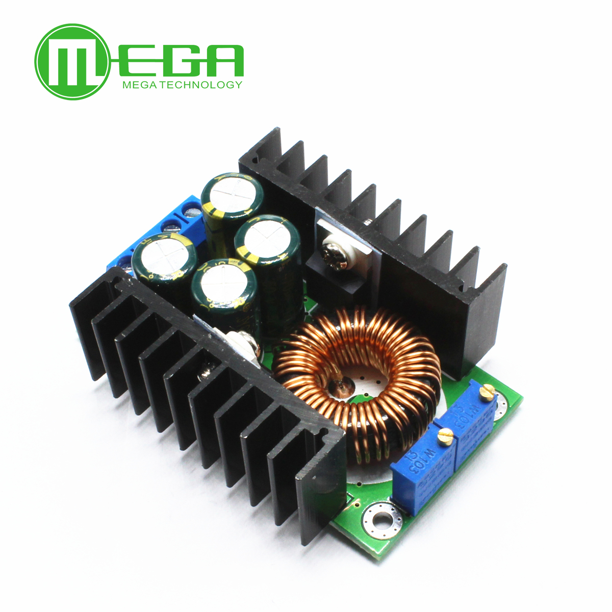 new DC CC 9A 300W Step Down Buck Converter 5-40V To 1.2-35V Power module