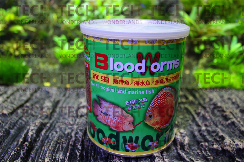 55g japan futian freeze dried red insect blood worm for for Saltwater fish food