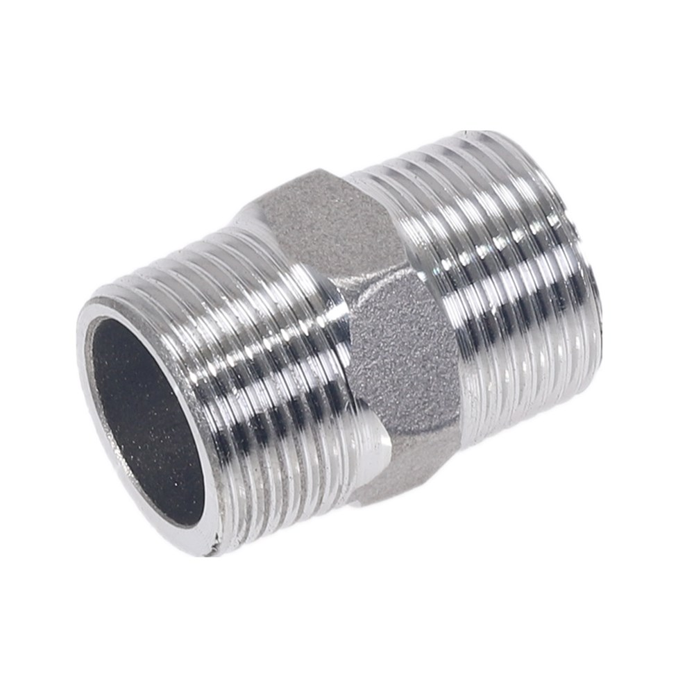 Male to Male Hex Nipple Threaded Reducer Pipe Fitting Stainless Steel 304 DN6 DN8 DN10 1 8 39 39 1 4 39 39 3 4 39 39 1 39 39 in Pipe Fittings from Home Improvement