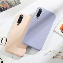 Original Phone Cases For Xiaomi Mi 9 Liquid Silicone Fundas Case SE Cover protective for Mi9 Mi9SE