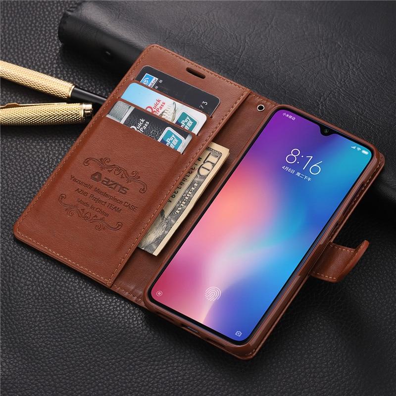 For Xiaomi Mi 9 Mi9 Lite Case Wallet PU Phone Case For Mi A3 8 Lite Mi 9 Se 9T Mi CC9 CC9e Redmi Note 8 Pro 8T 8A Cases Cover