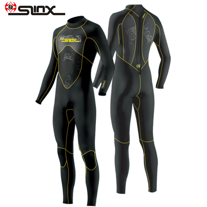 Slinx scuba diving wetsuit 3mm suits for men neoprene swimming surfing wet suit swimsuit equipment jumpsuit