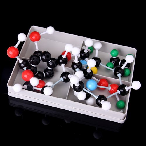 Affordable Molecular Model Set Kit General and Organic Chemistry School Teaching Learning Tools xhjy xmm 006 chemistry organic molecule model for teaching multicolored