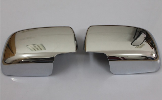ABS Chrome Rearview Side Door Mirrors Cover Trim FOR Nissan Qashqai 2008 2009 2010 2011 2012 2013 2014 2015 2PCS/SET 2 pieces car styling door side rearview mirror cover trim abs for subaru forester 2009 2010 2011 2012