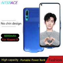 Battery Charger Case For Xiaomi 9 Portable Battery Charging Case Backup Battery Cover 6000mAh Extended Phone Battery Power Case