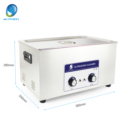 Skymen Mechanical Ultrasonic Cleaner Bath 22L 480W watch cleaning machine ultrasonic cleaner parts stainless steel washer Islamabad