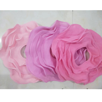 Handmade Flower Style Felt Wool Blanket Layer Fluffy Wool Felt Basket Filler Stuffer Newborn Baby Photography Backdrops Props Y