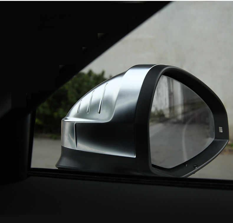 جديد وصول 1 زوج الجانب الجناح مرآة الرؤية الخلفية يغطي غطاء الفضة ماتي كروم شل غطاء حماية غطاء لأودي A4 A5 S4 S5 B9