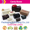 Contemporary Ballotin Paper Candy Boxes Customized Printed Packaging Boxes Luster Metallic Candy Boxes
