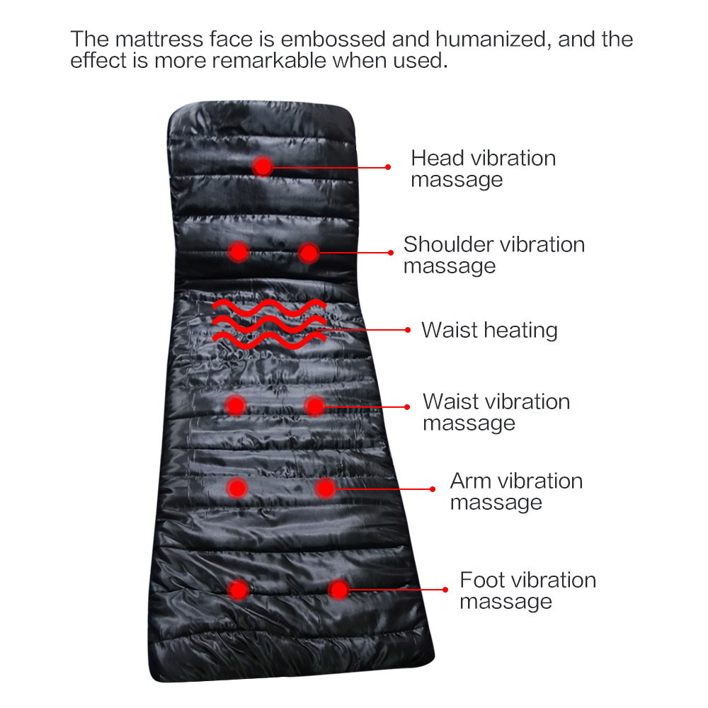 Güzellik ve Sağlık'ten Masaj ve Rahatlama'de Beurha sağlık ekipmanları masaj koltuğu Sistemik çok fonksiyonlu masaj yastık yaslanmış için yastık halı'da  Grup 3