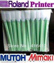 DHL 3000 sztuk waciki do Roland Mimaki Mutoh drukarka do czyszczenia do czyszczenia pianki wacik duży waciki