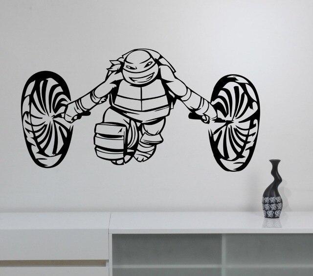 Ninja Turtles Wandtattoo Jungen Schlafzimmer Decor Vinylwand ...