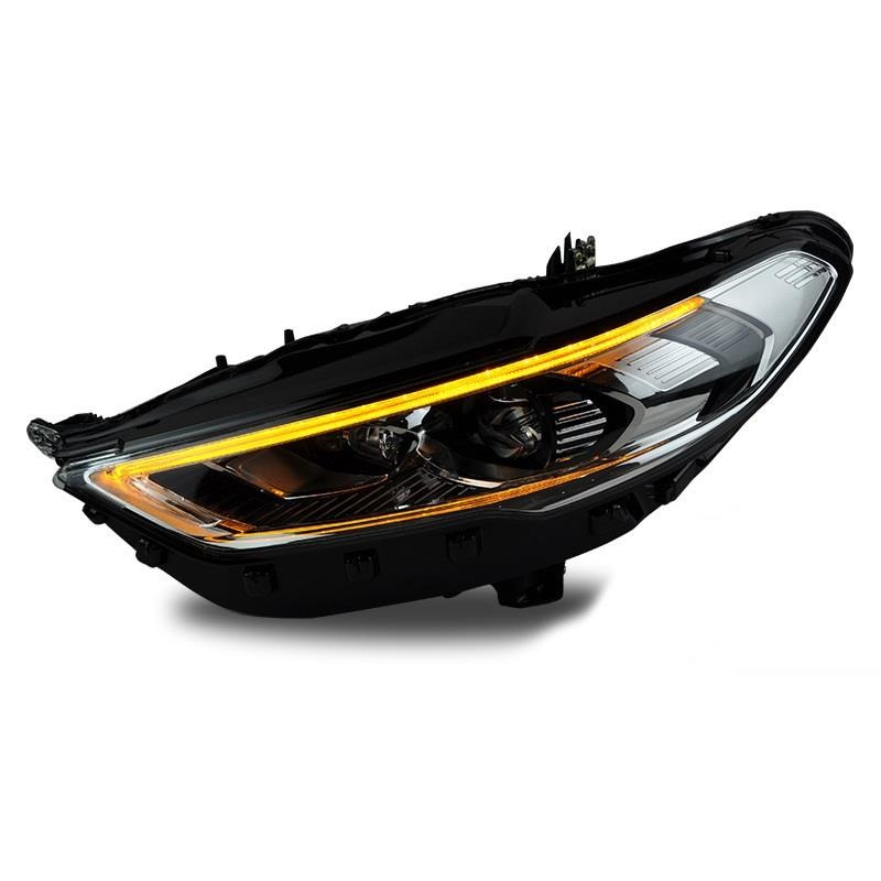 Assessoires Neblineros Para Auto Parts Daytime Running Drl Cob Led Front Fog Headlights Rear Car Lights Assembly For Ford Mondeo 2x universal car auto front bumper drl cob led fog bulb lights diameter 9cm daytime running light fog lamps for ford toyota
