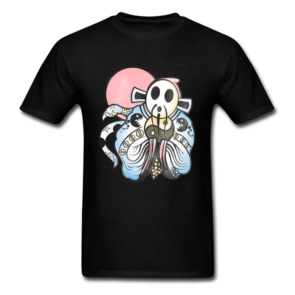 Funny T-Shirts Yin Yang God Of Wealth Shy Mode Patterns Tshirt For Men Fathers Day High Quality Full Cotton Casual Tops Tees